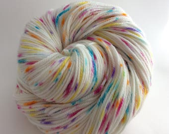 Sprinkled Donut - 8 ply yarn