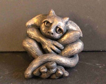 Gargoyle Sculpture, Gargoyle Figurine, Gargoyle Lovers Gifts, Cute Gargoyle, Fantasy Creature, Gifts For Her, Gift For Him, Gargoyle Gift