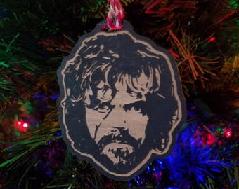 Tyrion Ornament - Game of Thrones Ornament - Holiday Decor - Hear Me Roar - Tyrion Lannister Game of Thrones Christmas - Lannister Ornament