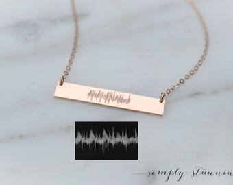 Personalized baby gifts etsy personalized necklace custom initial necklace baby name necklace new mom gift heartbeat negle Choice Image