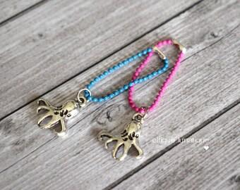 """Octopus"" necklace for Pullip, Blythe, Dal, Yeolume, Monster High, Barbie dolls, YOSD, BJD 1/6"