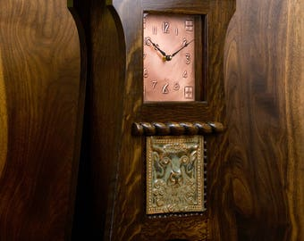 Craftsman / Mission / Arts & Crafts Mantel Clock