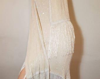 FREE  SHIPPING   Lillie  Rubin  Beaded  Dress