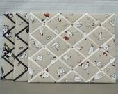 Chicken | Cows | Sheep | Fabric | Memo board | memory board | notice board | Bulletin board | 40 x 50cm