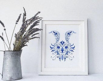 Blue & White Porcelain - Chinese Zodiac (Limited Edition of 10)
