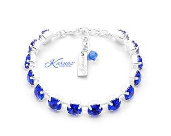New Colors SPRING/SUMMER 2019 8mm Bracelet 4 COLORS Swarovski *Pick Your Size, Finish, & Color *Karnas Design Studio™ *Free Shipping