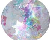 Ice Cream Castle Fairy House Body Glitter - Iridescent Star Glitter, Star Body Glitter, Star Chunky Body Glitter, Star Chunky Body Glitter