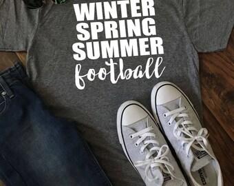 Seasons Football Tee