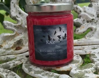 Kaz Brekker Hand Poured Soy Candle