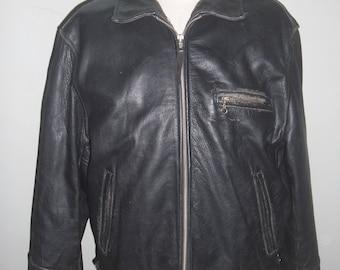 Vintage leather jacket companies