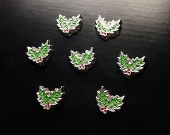 Mistletoe Floating Charms for Floating Lockets-Gift Idea