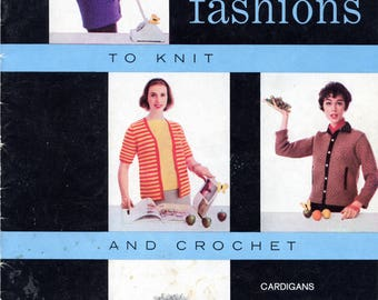 Smart Fashions from American Thread Co. (Star Book No. 141) | Knitting, Crochet | Craft Book