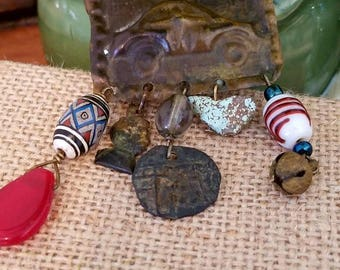 Very Unique Vintage Pendant/Brooch - Definitely One-of-a-kind.
