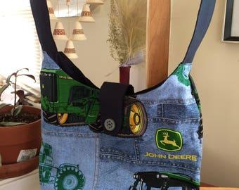 John Deere Hobo Bag