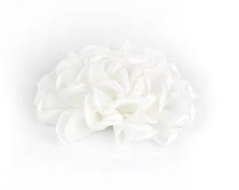 White Dog Collar Flower, White Collar Flower Attachment, White Collar Flower Add On, White Collar Flower Accessory, Dog Collar Flower