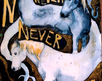 N is for Never, Never Land