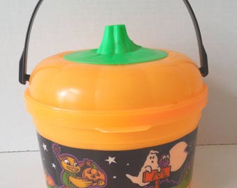 McDonald's Halloween Happy Meal Pail with Cookie Cutter Lid