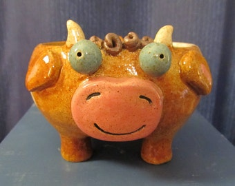 Little Brown Cow Bowl