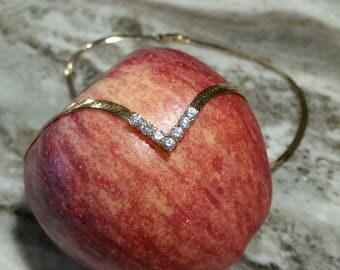 Cubic Zirconia Necklace and Bracelet Set