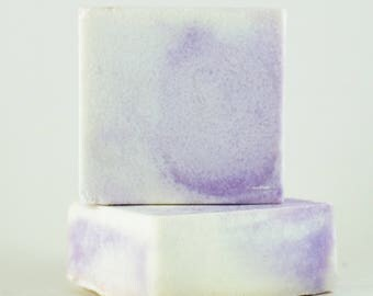 Lavender & Sea Salt Soap made with Lavender Essential Oil, 5 ounce bars