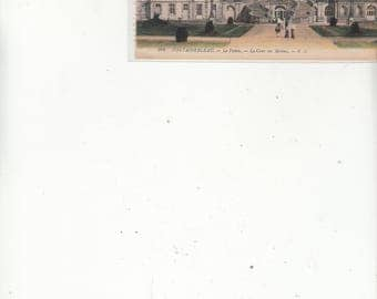 Fontainebleau-France-Antique Postcard-Le Palais-