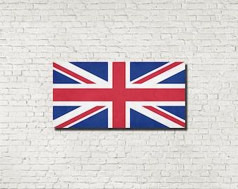 Union Flag Print Union Jack UK flag British Flag Great Britain