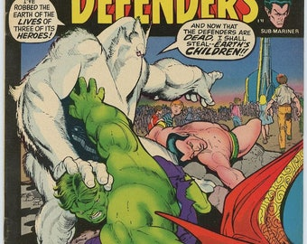 Marvel Feature #3 - featuring the DEFENDERS!