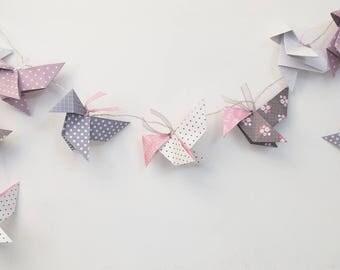 10 Origami Cranes night light led light string