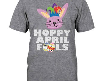 Hoppy April Fools Easter Day Tee