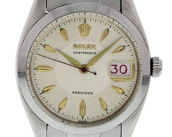 Vintage Rolex Oysterdate Precision 6494
