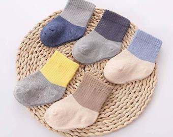 Cute Baby Socks, Girl Socks, Boy Socks, Cotton Baby Socks, Newborn Gift, Baby Shower Gift, Neutral Baby Gifts, Summer Baby Socks