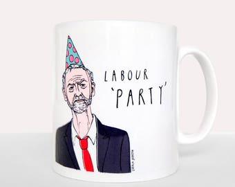 Jeremy Corbyn Labour 'Party' Mug