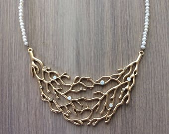 Coral Staple Necklace