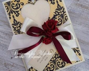 Handmade Birthday Card, Wife Love Card, , Fiancee, Girlfriend, Partner, One I Love, Anniversary, Birthday, Personalized