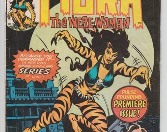 Marvel Chillers #3 1st Solo Tigra & Origin Story 1975 Bronze Age Marvel Comic Book The Were-Woman 1970s