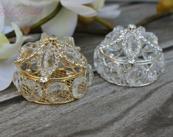 NEW!! Silver or Gold Wedding Arras, Ring Box, Arras de Boda, Unity Coins, Treasurer Chest Wedding Arras, Silver Wedding Arras, Wedding Arras