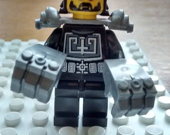 made from pieces of Lego Ninja 2 figurine