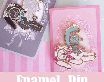 Chestburster Lolita Enamel Pin