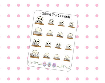 Mogus Studying Working Planner Stickers M1