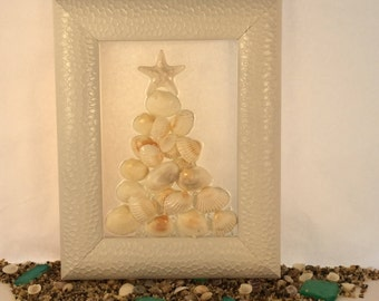 Oh Seashell White Christmas Tree!