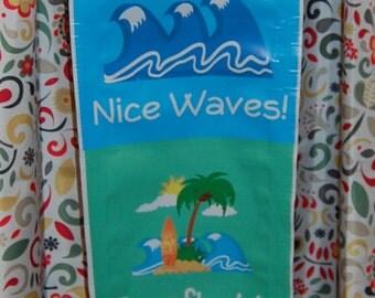 Surfer / Beach  Behavior Chart - 1' x 6' - Classroom - Teacher - Homeschool