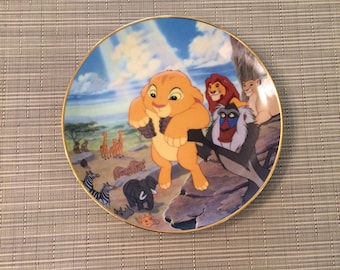 Walt Disney Lion King Collectible Plate The Circle of Life