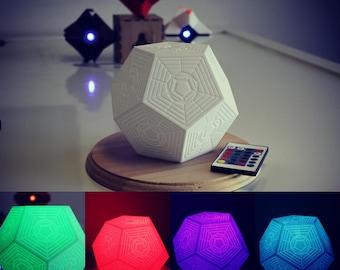 Engram - Light Up Remote Control LED Engram Multicolor Destiny Ghost Companion 3D Printed
