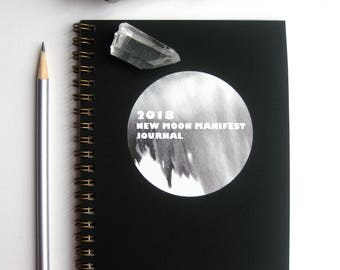 2018 New Moon Manifest Journal