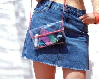 Clear crossbody bag | Etsy