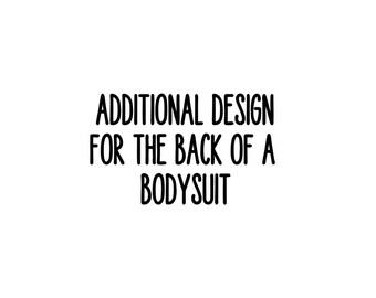 Additional Custom Bodysuit Design