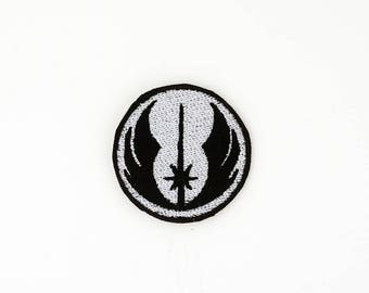 Jedi Order Patch, Star Wars Patch, Iron On Patch, Sew On Patch, Cosplay Patch