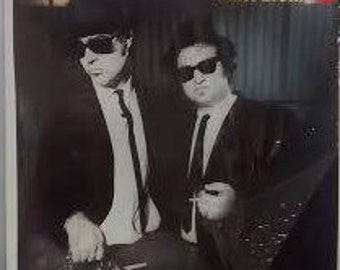 "Blues Brothers ""A Briefcase Full of Blues 1978 Vintage Vinyl LP 33"