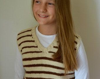 Waistcoat 100% Handmade Alpaca, Alpaca, winter Sweater, handmade