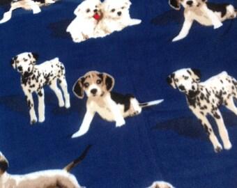 Large fleece dog blanket